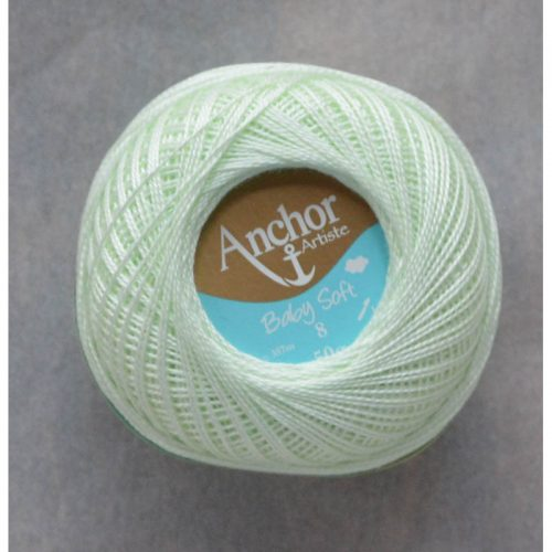 Anchor Baby Soft 8 fb. 441 svetlá zelená