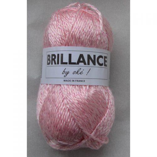 Brillance 413 ružová+ružový lurex