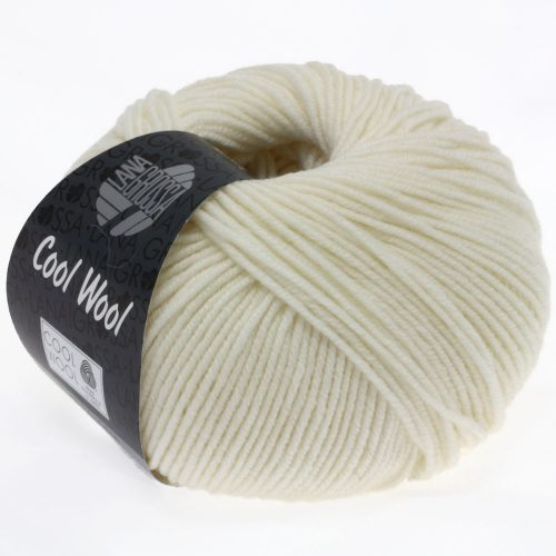 Cool Wool 2000 prírodná biela 432