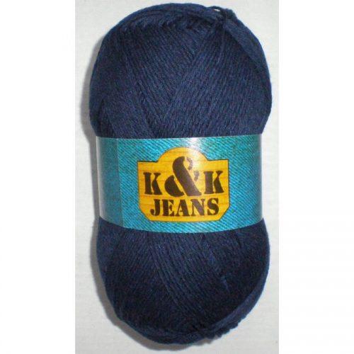 K&K Jeans 114 tmavomodrá - 100g