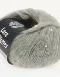 Lace paillettes 8 sivá