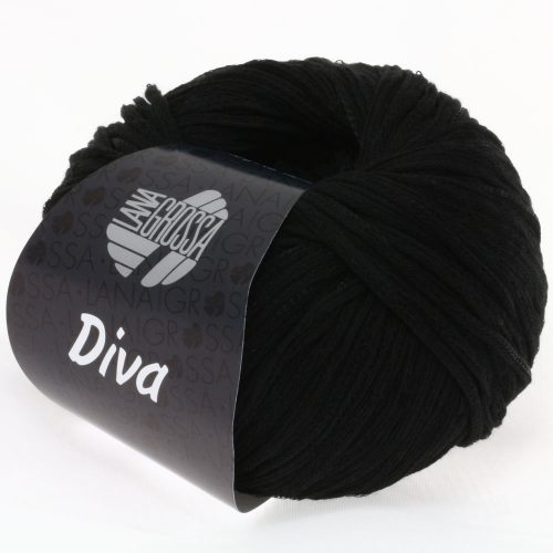 Diva 7 čierna