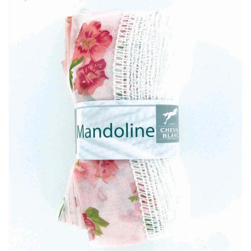 Mandoline 305 Bledoružová, kvety