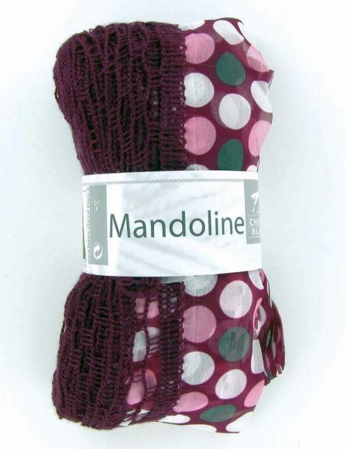 Mandoline 309 Fialová, bodky