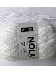 Nola 11 biela s lurexom 150g