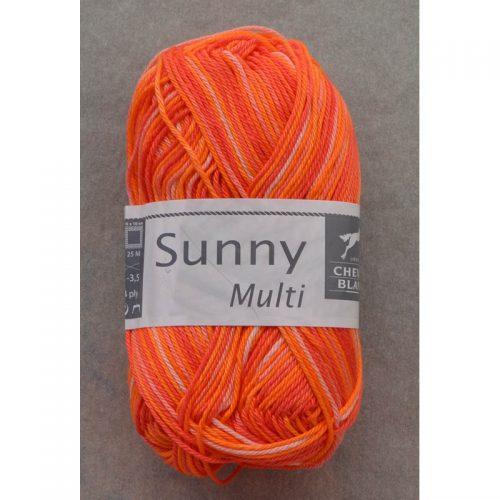 Sunny multi 402 oranžová/svetlá ružová/tmavšia ružová