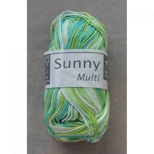 Sunny multi 472 zelené jablko/tyrkys/biela