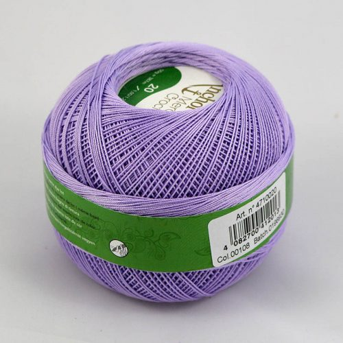AA Mercer Crochet 20 108 lila