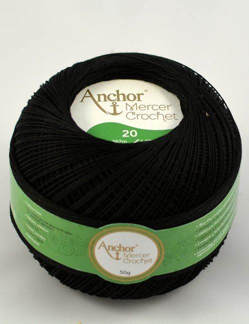 AA Mercer Crochet 20 403 čierna