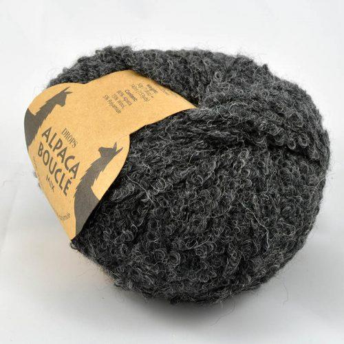 Alpaca boucle 506 antracit