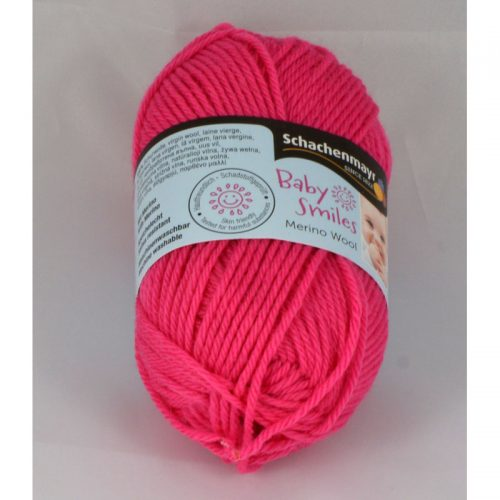 BS Merino wool 1036 sýta ružová