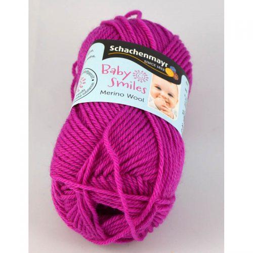 BS Merino wool 1037 cyklámenová