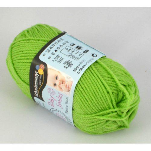 BS Merino wool 1072 jarná zelená