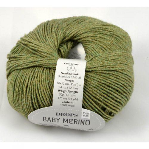 Baby merino 38 oliva