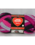 Bella 1007 pink/fialová/sivá