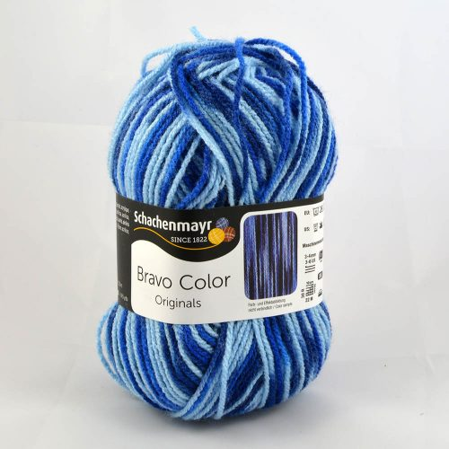 Bravo color 87 modrý melír