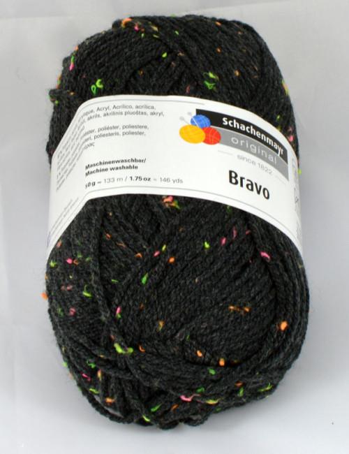 Bravo 8329 antracitová + neónové bodky