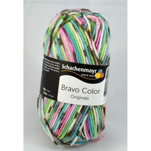 Bravo color 2083 modrá/sivá/ružová pastel