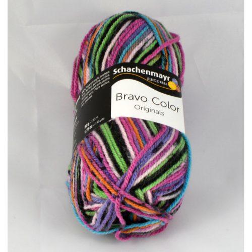 Bravo color 2094 čierna/ružová/zelená