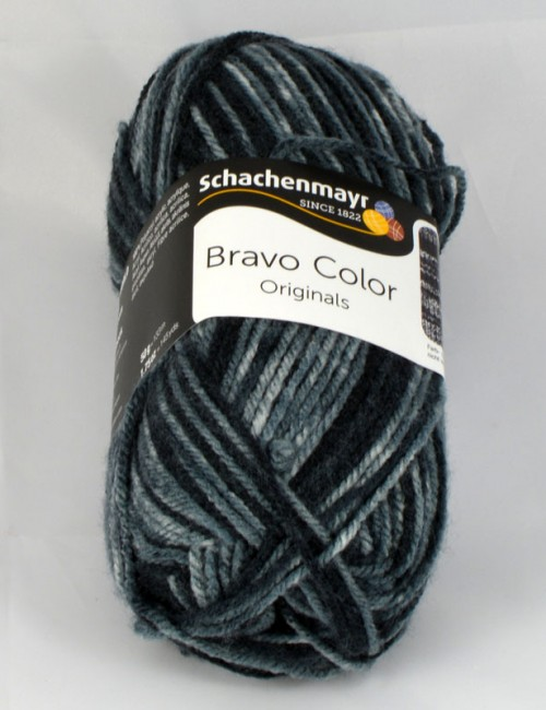 Bravo color 2114 sivá denim