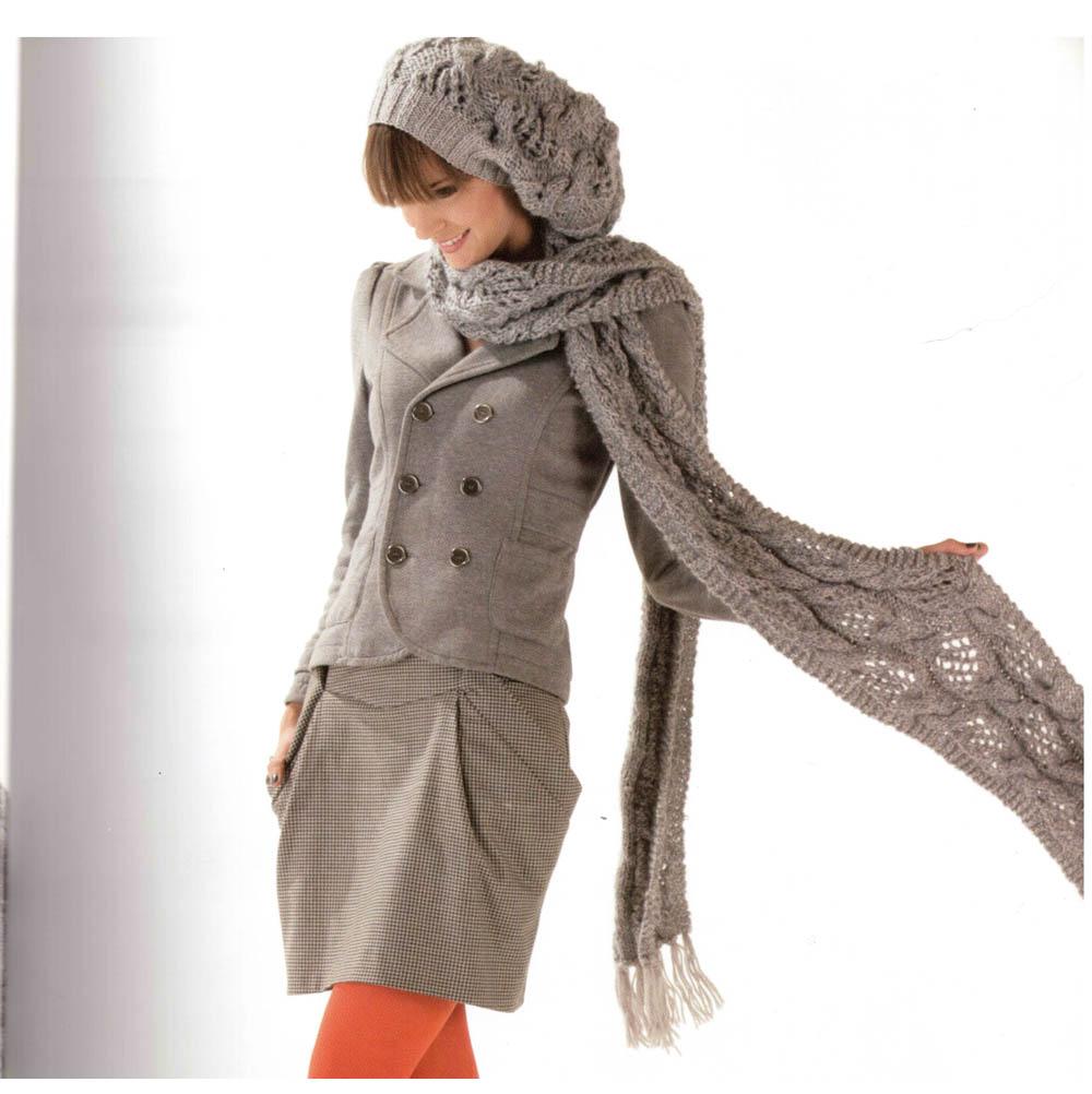 484565c4a Návody na pletené a háčkované čiapky, šále, klobúky | Klbkovlny