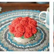 CHB 19/21 Kytica ruží - návod + priadza