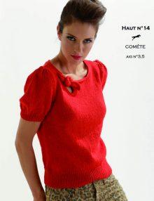 CHB 18/14 Tričko - návod + priadza