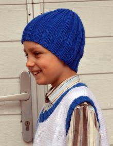 Čiapka pletená patentom