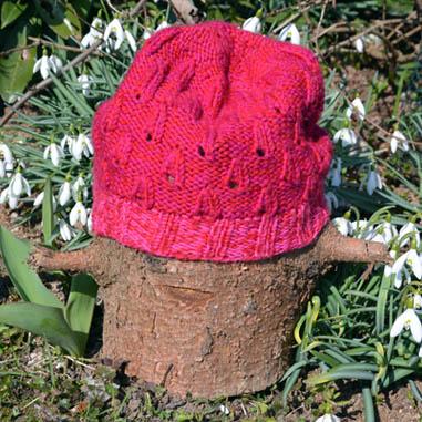 Slzičková čiapka zo zvyškov