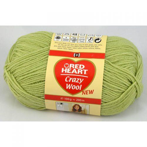 Crazy wool 2 svetlá zelená