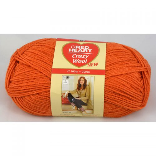 Crazy wool 5 terakota
