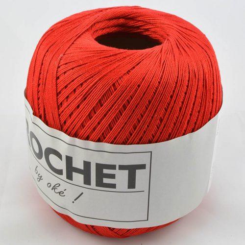 Crochet 4 červená