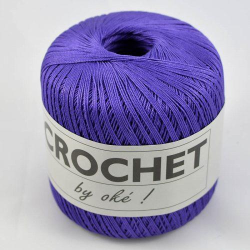 Crochet by OKE 61 fialka