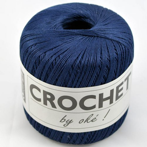 Crochet by OKE 94 tmavomodrá