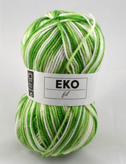 Ekofil color 327 zelenobiely melír