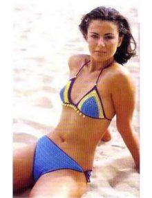 Háčkované bikini