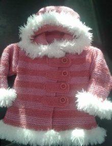 Ružová verzia kabátika od Ivetky