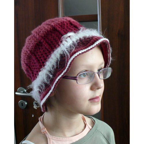 Háčkovaný klobúčik