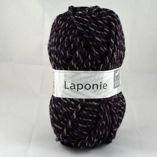 Laponie 845 sivá/čierna/baklažán