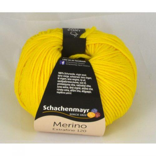 Merino extrafine 120 122 narcisová žltá