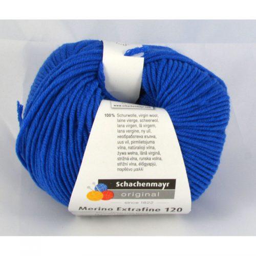 Merino extrafine 120 151 kráľovská modrá