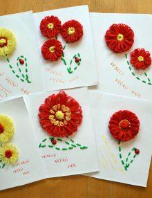Pohľadnice s kvetmi