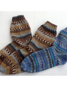 Ponožky s bumerangovou pätou