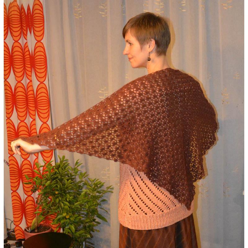 070b43b34 Čipková háčkovaná šatka   Klbkovlny, vlna na pletenie