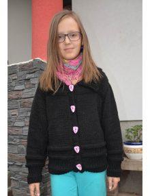 Bavlnený sveter s ozdobnými gombíkmi