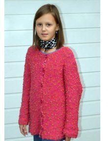 Efektný dievčenský sveter