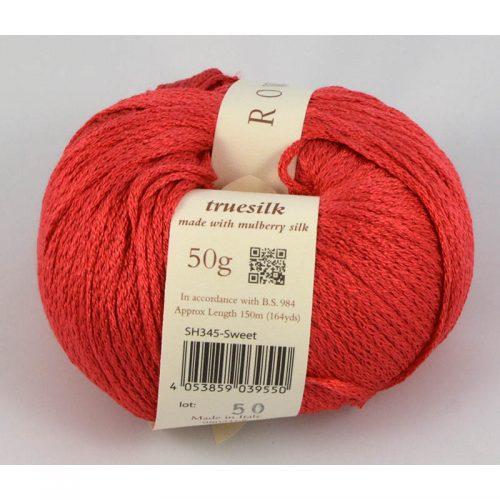 Truesilk 345 červená