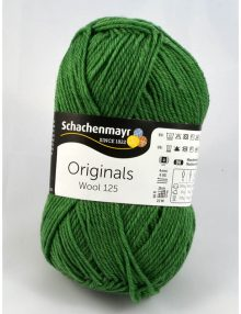 Wool 125 178 lesná zelená