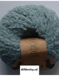 DROPS Alpaka Bouclé 7402 dymová modrá