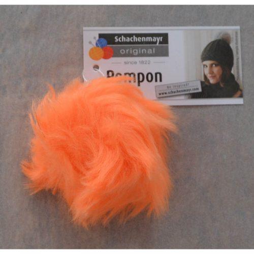 Pompon 25 neónová oranžová